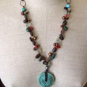 Jewelry - Precious Stone Beaded Necklace